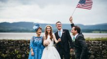 Our wedding story: mad about each other within moments of meeting