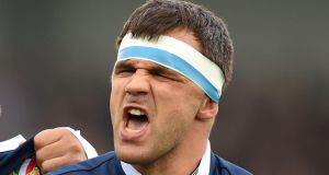 Simone Favaro: the Italian is the latest sign of the relatively recent attraction of foreign players to the PRO12 champions. Photograph: Andrew Matthews/PA