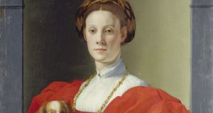 Portrait of a Lady in Red (circa 1525-1530) by Agnolo di Cosimo (Bronzino). Copyright Frankfurt-on-Main, Städel Museum
