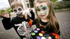 Parents have been urged to check the labelling on face paints before using them on their children this Halloween. Photograph: Chris Bellew/Fennell Photography