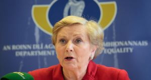 Minister for Justice Frances Fitzgerald. File photograph: Gareth Chaney/Collins
