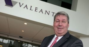 Michael Pearson, chairman of the board and chief executive officer of Valeant Pharmaceuticals: His methods  proved he didn't have much patience for research and development. Photograph: Christinne Muschi/Reuters