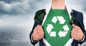 "The ""reduce, reuse, recycle"" message became a meaningless mantra when a shopping addiction grabbed the nation during the boom years.  Photograph: Thinkstock"