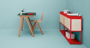 Catalogue desk by Ronan and Erwan Bouroullec at Hay, Denmark