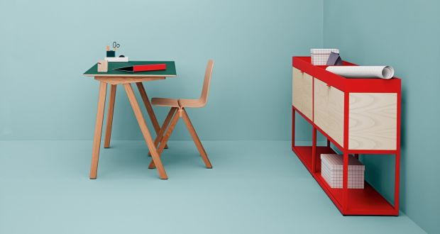 catalogue desk by ronan and erwan bouroullec at hay denmark - Nordic Design Furniture