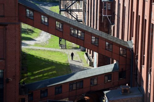 A view of Knappenrode Briquette factory and Museum.  Photograph:Frank Miller  / The Irish Times