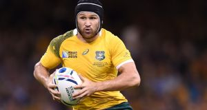 Centre Matt Giteau is a popular member of the Australia squad. Photograph: Andrew Matthews/PA Wire