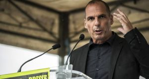 Yanis Varoufakis was always cast as chief swordsman for prime minister Alexis Tsipras but close observers say the Syriza machine saw him more as 'brainy and useful' than a core backroom figure.  Photographs: Jean-Philippe Ksiazek