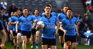 """[Diarmuid Connolly] has all the talent but he's matched that in with his physicality, his work rate and with his leadership of the team,"" says St Vincents teammate Paddy Andrews. Photograph: Dara Mac Donaill"