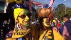 Fans in fine voice ahead of the Rugby World Cup Final