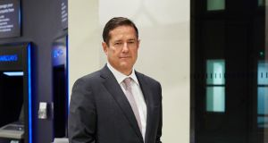 "Jes Staley, new chief executive of Barclays group. Trust, he said, was ""the key to unlocking shareholder value"". Photograph: Debra Hurford Brown/Barclays/PA Wire"