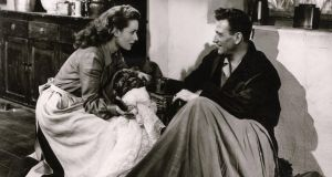 Maureen O'Hara and John Wayne in The Quiet Man. Photograph: Kobal
