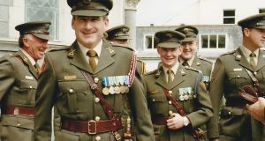 The late Defence Forces Lt Col Jack Griffin. Photograph: Ní Riain Photography, Thurles.