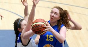 UL Huskies' Aoife McDermott: finished the game against DCU Mercy with 27 points. Photograph: Inpho