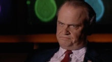 A selection of Fred D Thompson's most famous roles