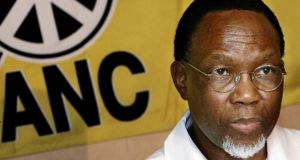 South Africa's former president Kgalema Motlanthe in December 2005, when he was general secretary of the African National Congress. Photograph: Gianluigi Guercia/AFP