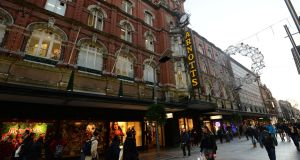 Arnotts: Selfridges Group acquired the 172-year-old Henry Street business on Monday. Photograph: Dara Mac Dónaill
