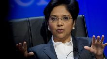 Indra Nooyi, chairman and chief executive officer of PepsiCo, wakes at 4am each morning and is in the office no later than 7am. Photograph: Daniel Acker/Bloomberg News