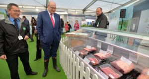"EU agriculture commissioner Phil Hogan believes the recent WHO report on meat links to cancer was ""misinterpreted"". File photograph: Alan Betson/The Irish Times."
