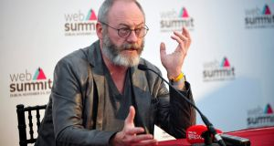 "Actor Liam Cunningham: ""What needs to change ìs the entire Government to get down on its knees to Paddy [Cosgrave] and beg him to bring it back."""