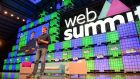 Belated invitation ... Paddy Cosgrave opening the Web Summit 2015 at the RDS in Dublin.  Photograph: Eric Luke / The Irish Times.