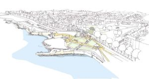 New plan for Dun Laoghaire:  the historic baths have been idle for almost 20 years