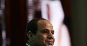 Abdel Fattah al-Sisi: he defends his crackdown as necessary for the protection of Egyptians. Photograph: Mohammed al-Shaikh/AFP/Getty