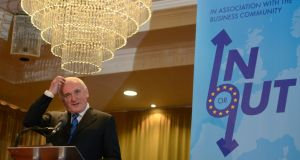"Former taoiseach Bertie Ahern at a recent Brexit conference in Belfast. The ESRI finds on Brexit: ""Trade is very concentrated in a few product types implying that increased trade barriers ... would have a more pronounced impact on trade volumes"""