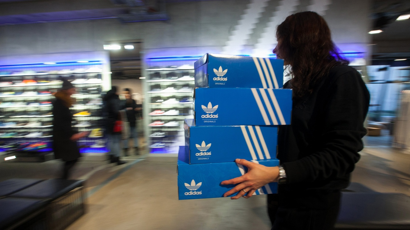 sale retailer fd98f c6f8b Adidas CEO says FIFA scandal not damaging its brand