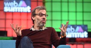 David Schneider, co-founder of That Lot, speaks during Day 3 of the 2015 Web Summit in the RDS. Photograph: Sportsfile