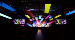 The Marketing Stage during Day 3 of the Web Summit Photograph: Sportsfile