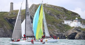 Boats depart Wicklow on the 2014 Round Ireland Race. The next race will have a multihull class for the first time. Photograph: David O'Brien.