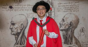 Michael Thai Trung King, who is to be conferred with a PhD from the RCSI. Photograph: Brenda Fitzsimons/The Irish Times