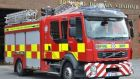 Gardaí suspect a fire in the sitting room was the cause of his death. Photograph: Fire Ireland