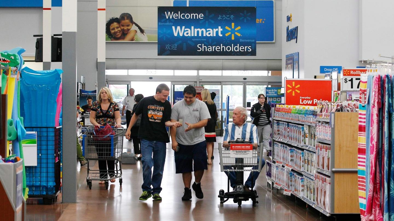 Who got the Walmart money?