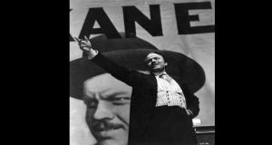 Leading role: Orson Welles in Citizen Kane. Photograph: Getty Images