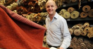 "Ciarán Finane of Finline Furniture: ""I can't underestimate how lucky we've been with our staff."" photograph: bryan meade"