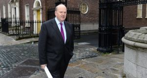 Minister for Finance Michael Noonan. Photograph: Dara Mac Dónaill