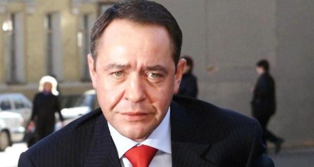File photograph of  Mikhail Lesin. File photograph: Alexander Natruskin/Reuters