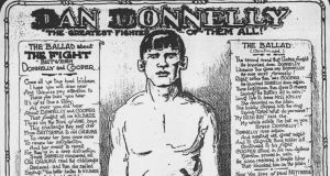 A poster celebrating Dan Donnelly.