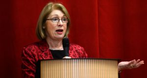 "Minister for Education Jan O'Sullivan said proximity could be included in ""future reform"". Photograph: Frank Miller"