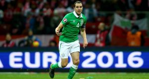 John O'Shea: one of five players named in the Republic of Ireland squad who are receiving treatment at their clubs. Photograph: Donall Farmer/Inpho.