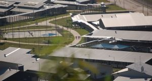Christmas Island Immigration Detention Centre. Photograph: Andrea Hayward/EPA