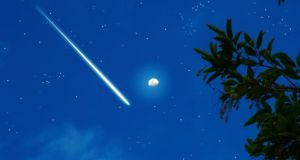 Stock photograph of meteorite. Photograph: Thinkstock