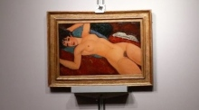 Modigliani nude sells for second-highest ever art auction price
