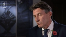 Channel 4's Jon Snow grills Lord Coe