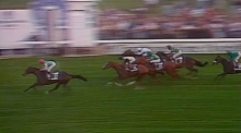 Pat Ederry wins the 1986 Arc de Triomphe
