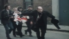 Archive footage of Bloody Sunday