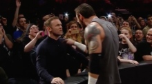 Striker's instinct: Wayne Rooney slaps WWE wrestler