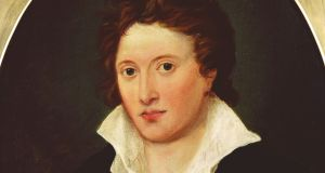 Percy Bysshe Shelley by Amelia Curran (1819): wrote 'Poetical Essay on the Existing State of Things' in autumn and winter 1810-11 during his first year as a student at Oxford. Image: National Portrait Gallery, London